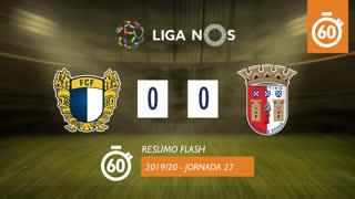 Liga NOS (27ªJ): Resumo Flash FC Famalicão 0-0 SC Braga