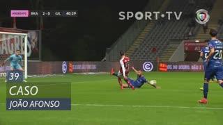 Gil Vicente FC, Caso, João Afonso aos 39'