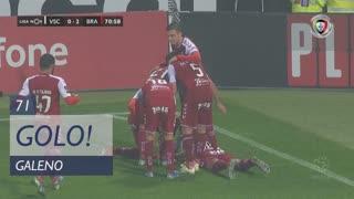 GOLO! SC Braga, Galeno aos 71', Vitória SC 0-2 SC Braga