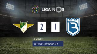 Liga NOS (14ªJ): Resumo Moreirense FC 2-1 Belenenses SAD