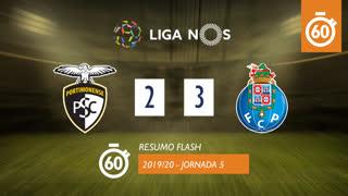 I Liga (5ªJ): Resumo Flash Portimonense 2-3 FC Porto