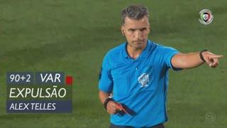 FC Porto, Expulsão, Alex Telles aos 90'+2'