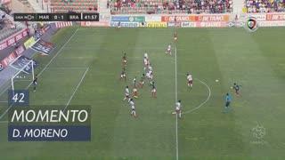 Marítimo M., Jogada, D. Moreno aos 42'