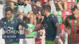 Sporting CP, Jogada, M. Acuña aos 31'
