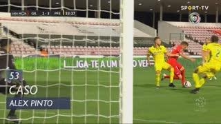 Gil Vicente FC, Caso, Alex Pinto aos 53'