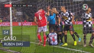 SL Benfica, Caso, Rúben Dias aos 54'