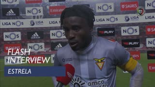 Liga (16ª): Flash Interview Estrela