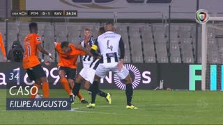 Rio Ave FC, Caso, Filipe Augusto aos 34'
