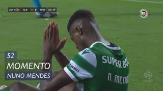 Sporting CP, Jogada, Nuno Mendes aos 52'