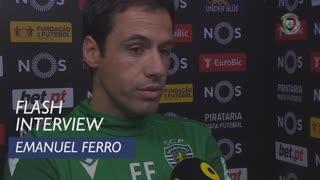 Liga (18ª): Flash Interview Emanuel Ferro
