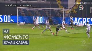 Sporting CP, Jogada, Jovane Cabral aos 43'