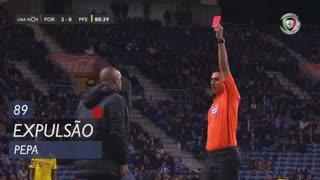 FC P.Ferreira, Expulsão, Pepa aos 89'