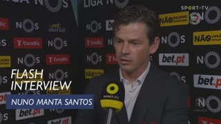 Liga (24ª): Flash Interview Nuno Manta Santos
