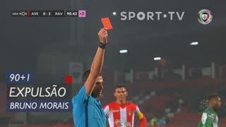 CD Aves, Expulsão, Bruno Morais aos 90'+1'