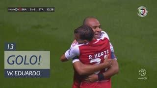GOLO! SC Braga, Wilson Eduardo aos 13', SC Braga 1-0 Santa Clara