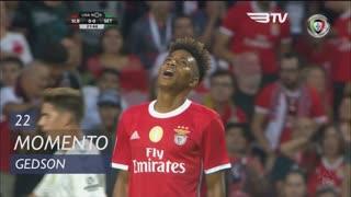 SL Benfica, Jogada, Gedson aos 22'