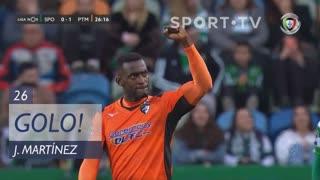 GOLO! Portimonense, Jackson Martínez aos 26', Sporting CP 0-1 Portimonense