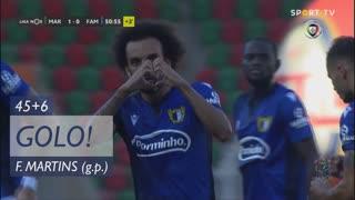 GOLO! FC Famalicão, Fábio Martins aos 45'+6', Marítimo M. 1-1 FC Famalicão