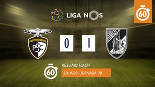Liga NOS (30ªJ): Resumo Flash Portimonense 0-1 Vitória SC