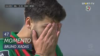 Marítimo M., Jogada, Bruno Xadas aos 47'