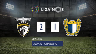 Liga NOS (12ªJ): Resumo Portimonense 2-1 FC Famalicão