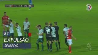 Vitória FC, Expulsão, Semedo aos 87'