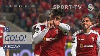 GOLO! SC Braga, Ricardo Esgaio aos 22', SC Braga 2-0 Gil Vicente FC