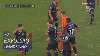 Vitória FC, Expulsão, Leandrinho aos 70'