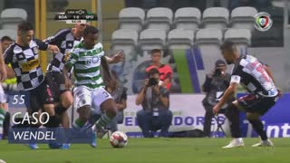 Sporting CP, Caso, Wendel aos 55'