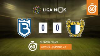 I Liga (24ªJ): Resumo Flash Belenenses 0-0 FC Famalicão