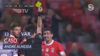 SL Benfica, Caso, André Almeida aos 53'