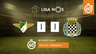 Liga NOS (8ªJ): Resumo Flash Moreirense FC 1-1 Boavista FC
