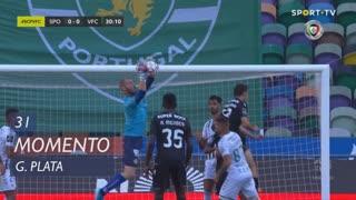 Sporting CP, Jogada, G. Plata aos 31'
