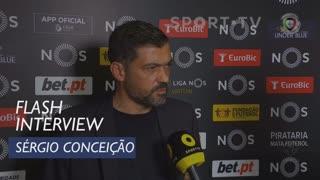 Liga (21ª): Flash Interview Sérgio Conceição