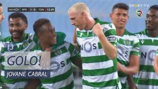 GOLO! Sporting CP, Jovane Cabral aos 13', Sporting CP 1-0 CD Tondela