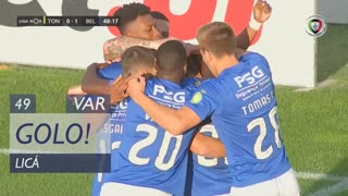 GOLO! Belenenses SAD, Licá aos 49', CD Tondela 0-1 Belenenses SAD