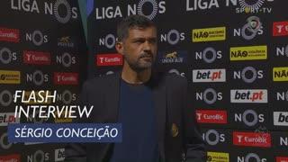 """Sérgio Conceição: """"Vale a entrega e a luta que tivemos"""""""