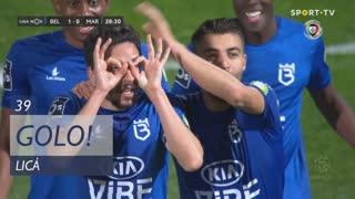 GOLO! Belenenses, Licá aos 39', Belenenses 1-0 Marítimo M.