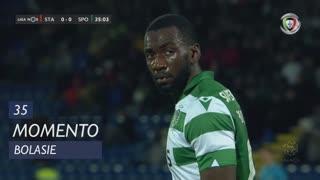 Sporting CP, Jogada, Bolasie aos 35'