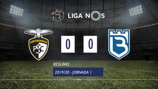 Liga NOS (1ªJ): Resumo Portimonense 0-0 Belenenses