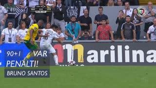FC P.Ferreira, Penálti, Bruno Santos aos 90'+1'