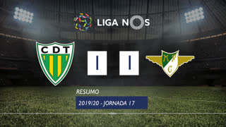 I Liga (17ªJ): Resumo CD Tondela 1-1 Moreirense FC