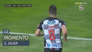 Boavista FC, Jogada, G. Sauer aos 12'