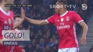 GOLO! SL Benfica, Vinícius aos 50', FC Porto 3-2 SL Benfica