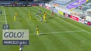 GOLO! Portimonense, Marcelo (p.b.) aos 17', FC P.Ferreira 1-1 Portimonense