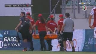 SC Braga, Caso, Rui Fonte aos 67'