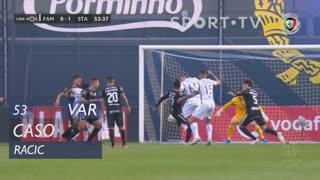 FC Famalicão, Caso, Racic aos 53'