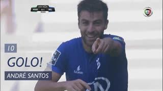 GOLO! Belenenses SAD, André Santos aos 10', Marítimo M. 0-1 Belenenses SAD