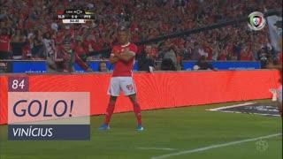 GOLO! SL Benfica, Vinícius aos 84', SL Benfica 5-0 FC P.Ferreira