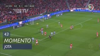 SL Benfica, Jogada, Jota aos 43'